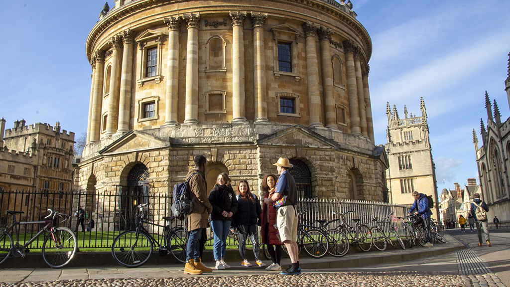 Oxford Time Tours, The Radcliffe Camera
